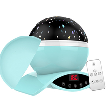 LED Night Light Atmosphere lamp Children Gif Kid Baby Lamp Moon Lights Rotating Remote Control Star Projector gifts party cloud moon star sun led baby night lights kid room decorations