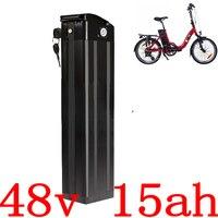 Бесплатная таможня без налога 48V 15AH аккумулятор 48V 15AH 1000W электрический велосипед батарея 48V литий-ионный аккумулятор 30A BMS и 2A зарядное устро...