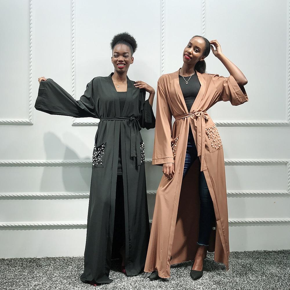 Abaya Kimono Turkish Hijab Muslim Dress Islam Clothing Abayas For Women Dresses Caftan Marocain Kaftan Dubai Robe Djelaba Femme