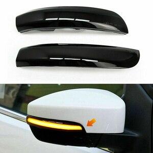 Image 4 - 2Pcs רכב Rearview מירור הפעל אות אור עבור פורד פוקוס 2 3 Mk2 Mk3 מונדיאו Mk4 LED חיווי דינמי נצנץ Streamer אורות
