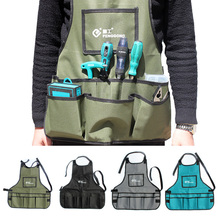 New 60*60cm Apron Tool Bag 600D Oxford Cloth Multi-pockets Tool Bag Waist Pockets Electrician Tool Bag Oganizer Garden Tools Bag garden multifunctional kit multi function portable adjustable 600d oxford cloth toolkit