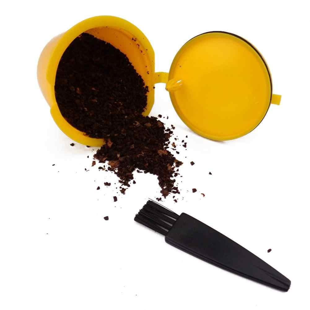 8ml พลาสติกช้อนผงกาแฟแปรงทำความสะอาด Tableware Dining ช้อน oft ยืดหยุ่นแปรงขนแปรงกาแฟเครื่องมือ