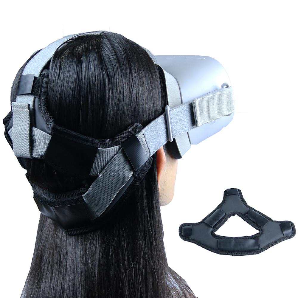 2020 Hot Non-slip VR Helmet Head Pressure-relieving Strap Foam Pad For Oculus GO VR Headset Cushion Headband Fixing Accessories
