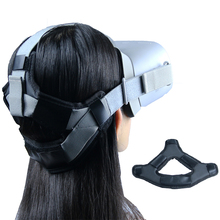 Protection antidérapante de mousse de sangle de soulagement de pression de tête de casque de VR pour Oculus GO/Quest 2 accessoires de fixation de bandeau de coussin de casque de VR