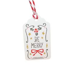 Birthday Clothes Santa Claus Christmas Label Christmas Hang Tags Xmas Gift Tags Coloured Drawing 50pcs/Pack Cookie(China)