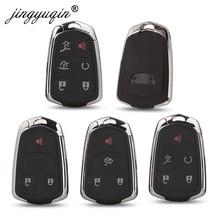 Jinyuqin 3/4/5/6 кнопки умный дистанционный ключ для автомобиля в виде ракушки для Cadillac SRX от АТС ХЦ CTS ATS XTS Escalade ESV чехол без ключа FOB ЗАМЕНА