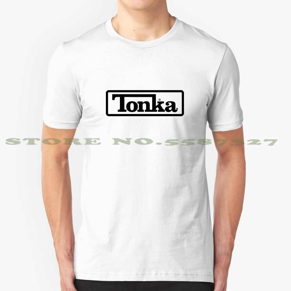 Vintage tonka caminhões preto fã logotipo legal design na moda camiseta t burningrabbit caminhão tonka caminhões oldschool velha escola