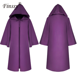 Image 5 - Halloween Death Wizard Cloak Cosplay Kostuum Monnik Hooded Gewaden Mantel Cape Friar Middeleeuwse Renaissance Priest Kids Adult