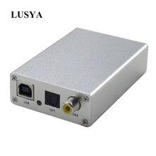 Lusya USB DAC dekoder OTG harici ses kartı Amp USB fiber Optik koaksiyel SPDIF RCA Çıkışı T0728