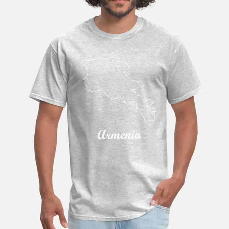 新しいアルメニア地図 Tシャツメンズ 2020 ラウンド襟レジャー Tシャツビッグサイズ 3xl 4xl 5xl ストリートヒップホップトップ