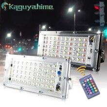 Kaguyahime Светодиодный прожектор 50 Вт 10 Вт 220 в 240 В отражатель лампа-фонарь уличного освещения Водонепроницаемый IP65 наружный прожектор садовый светодиодный прожектор