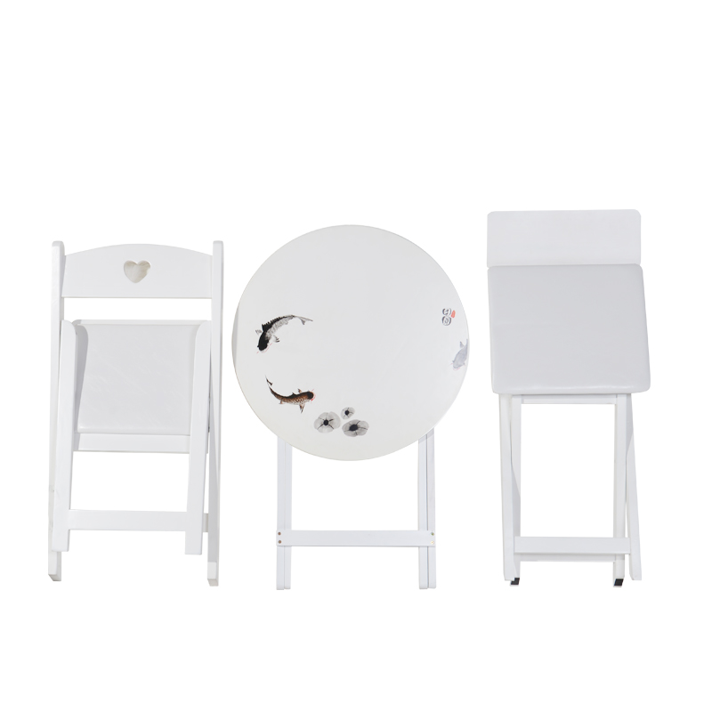 Folding chair modern minimalist desk chair home dining chair solid wood computer chair