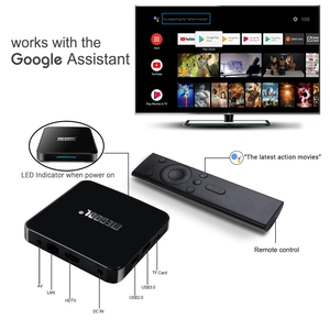 Image 5 - Mecool km3 android 10.0 caixa de tv 4g ddr4 128g 64g rom amlogic s905x2 2.4g/5g wifi 4k bt controle de voz google certificada caixa de tv