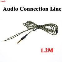 Kupfer überzogene kupfer draht Kopfhörer Wartung Draht stereo audio jack für DIY Ersetzen Kopfhörer Kabel 3 pole 3,5mm Audio kabel
