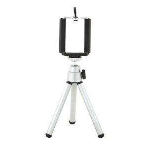 360 Degree Rotatable Stand Tripod Mount + Phone Holder For iPhone Samsung HTC tripode para movil штатив для телефона