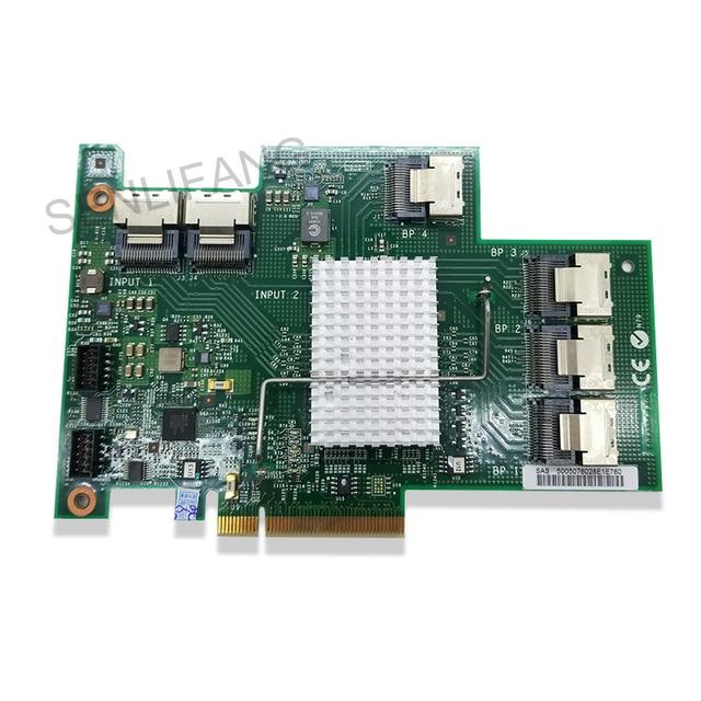 محول توسيع أصلي أصلي لـ 46M0997 69Y0650 60Y0309 لـ X3650M3 ServeRAID محول SAS/SATA مجدد