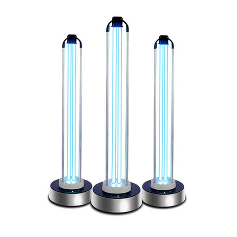 100W Ultraviolet Lamps Sterilization Lamp Home Kindergarten Mobile Ozone Sterilization Lamp Deodorant UV Lamp