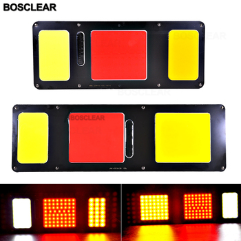 24V Anti Collision Light Taillight Auto Car Tail Brake Parking Lamp LED Stop Signal Indicator Warning COB High-brightness beads