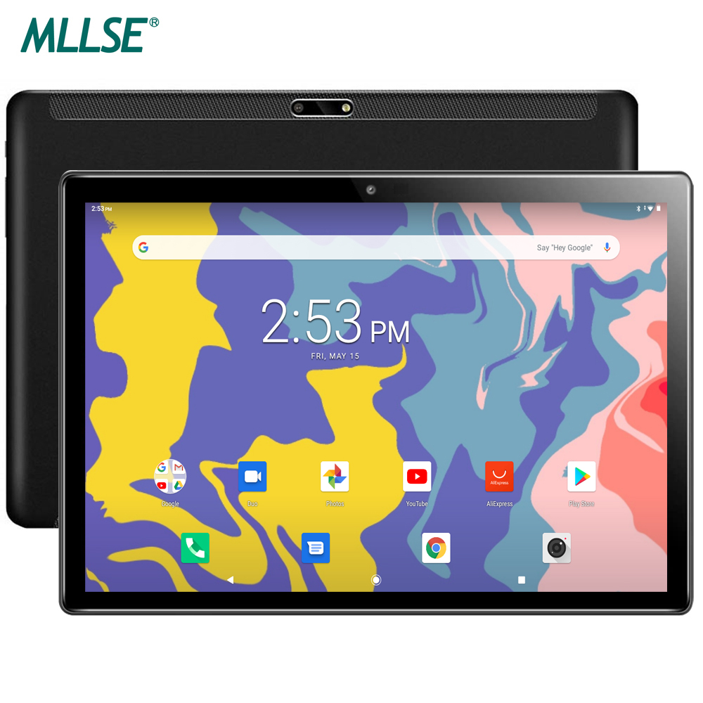 Newst MLLSE M10 Tablets 10 Inch Android 9.0 Tablet PC 1280x800 IPS Octa Core 3GB RAM 32GB ROM 4G FDD LTE Network 5G WiFi GPS