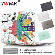 New Laptop Case For Apple MacBook Air Pro Retina 11 12 13 15 16 for mac book Pro 13.3 15.4 16 inch with Touch Bar+ Keyboard cove