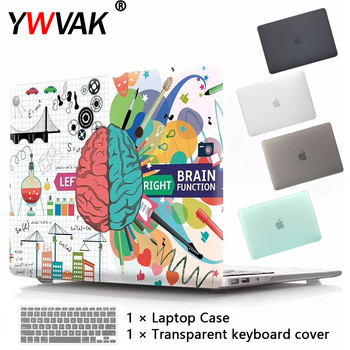 New Laptop Case For Apple MacBook Air Pro Retina 11 12 13 15 16 for mac book Pro 13.3 15.4 16 inch with Touch Bar+ Keyboard cove цена 2017