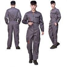 Combinaison de travail pour hommes et femmes, combinaison de protection à bretelles pour réparateurs, combinaisons pantalons, uniformes de travail de grande taille, sans manches