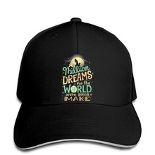 Hip-hopowe czapki baseballowe Bawe na Zwyczaj Drukowane czapki M czy ni Mln Dreams Najwi snapback