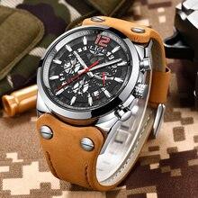 2020 новые мужские часы lige брендовые модные бизнес 30 м водонепроницаемые
