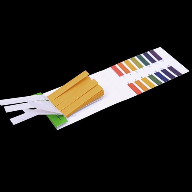 1set = 80 Strips!PH Test Strip Aquarium Pond Water Testing PH Litmus Paper Full Range Alkaline Acid 1-14 Test Paper