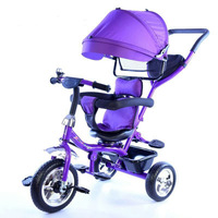 New Style S Shaped Multi functional Children Tricycle Baby Bicycle 1 5 Year Old Infants Cart Kids Wholesale
