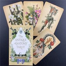 Antykwarska anatomia karty tarota pełna angielska wyrocznia wróżbiarstwo los rodzinna gra planszowa