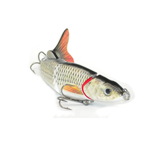 Multi-section 5 section Fishing Lure Crank Bait Swimbait Bass Shad Dace 3D eyes Tools 16cm 38g