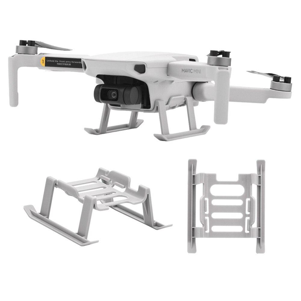 For DJI Mavic Mini Accessories Quick Release Landing Gear Skid Holder For DJI Mavic Mini Drone Extended Bracket Leg Protector