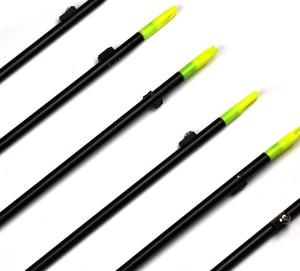 "Image 4 - 35 ""ロング弓釣り撮影矢印8ミリメートルグラスファイバーシャフト矢印複合/後ろに反らす弓b"