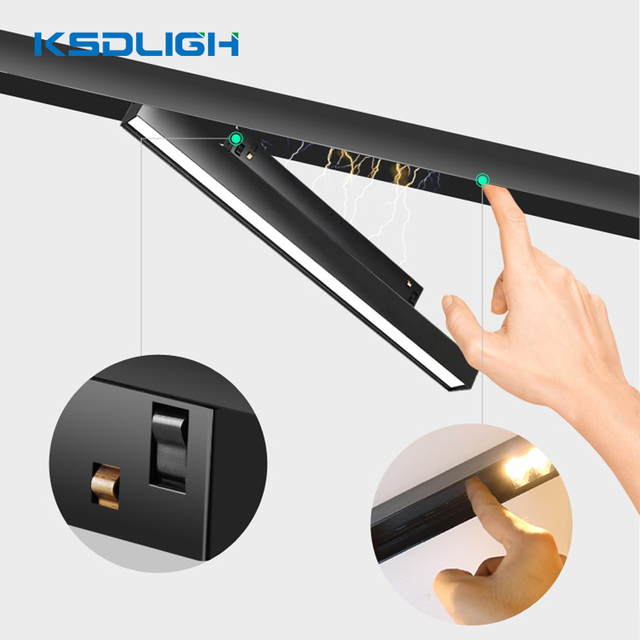 wireless bluetooth 4 0 dimmable smart lamp magnetic led track lighting recessed light for hom kitchen living room by ios android