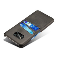 Para Xiaomi Mi Poco X3 NFC 8 9 SE 9T 10T Pro A2 A3 Lite ranuras para Tarjeta de PU Funda de cuero para Redmi Nota 9 s 8 7 Pro 7A 8A