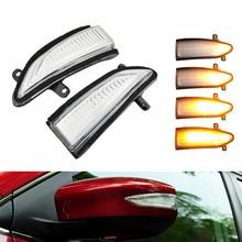 2PCS LED Car Dynamic Blinker Sequential Turn Signal Light For Nissan Tiida C13 Pulsar 2015 2016 2017 2018 2019 цена 2017