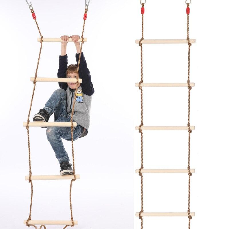 Columpio de juguete, escalera de Fitness para exteriores, escalera de escalada de madera con cuerda de cinco velocidades, escalera antideslizante para niños Bolsa médica de primeros auxilios para exteriores bolsa de aislamiento multibolsillo de gran almacenamiento bolsa médica de emergencia cruzada Portátil Bolsa de Nylon de viaje deportiva