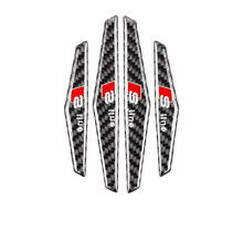 Car stickers apply to Audi apply to BMW apply to Mercedes-Benz doors carbon fiber anti-collision strip car universal applique