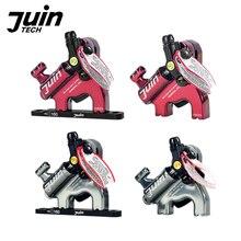 Juin Tech F1 велосипедный дисковый тормоз, штангенциркуль, гидравлический набор тормозов MTB XC road, горный велосипед, тормоз роторов 160 мм с плоским креплением
