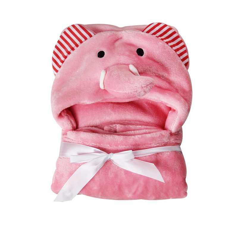 MOTOHOOD חורף שמיכות קריקטורה פנדה בעלי החיים כותנה תינוק שמיכות יילוד מצעים צילום אבזרי צמר חם שמיכת החתלה