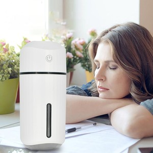 Image 2 - Car Air Humidifier Mini USB Colorful Night Light for Home Car Badroom Desktop Simple 320ML Humificador Aromaterapia Para Casa