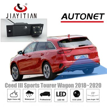 JIAYITIAN rear view camera For Kia Ceed Sports Tourer new ceed sw 2018 2019 2020/CCD/Night Vision/Backup Reverse parking Camera