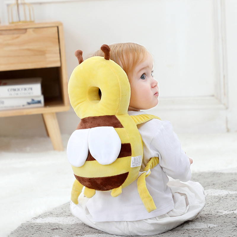 New Baby Head Protection Pad Toddler Headrest Pillow Baby Neck Cute Wings Nursing Drop Resistance Cushion Baby Protect For Kids