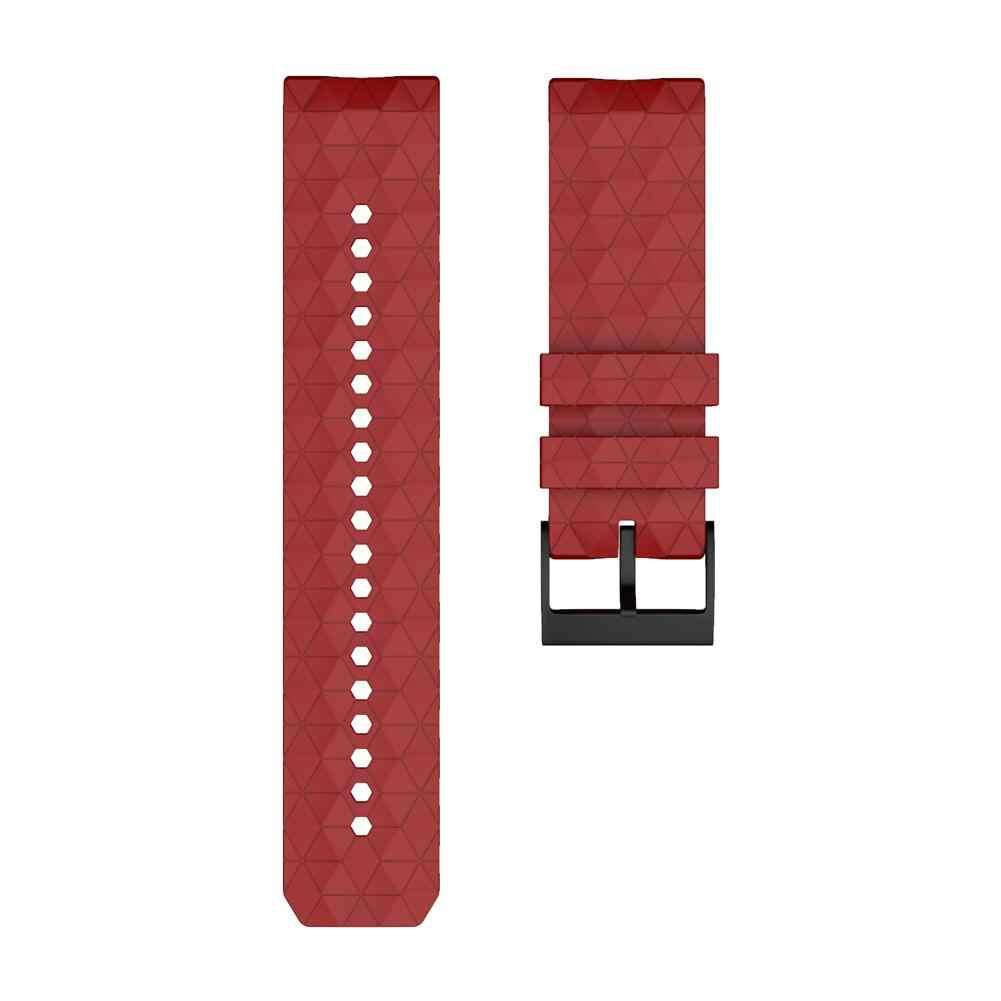 Correa de repuesto de silicona para reloj de pulsera para sucinto 9 Baro correa de cobre de titanio para suminuto Spartan Baro