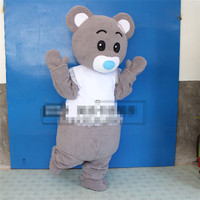 Custom Teddy Bear Cartoon Puppet Costume Person Wearing Walking Plus Doll Sing Anime Doll Costume Head Set