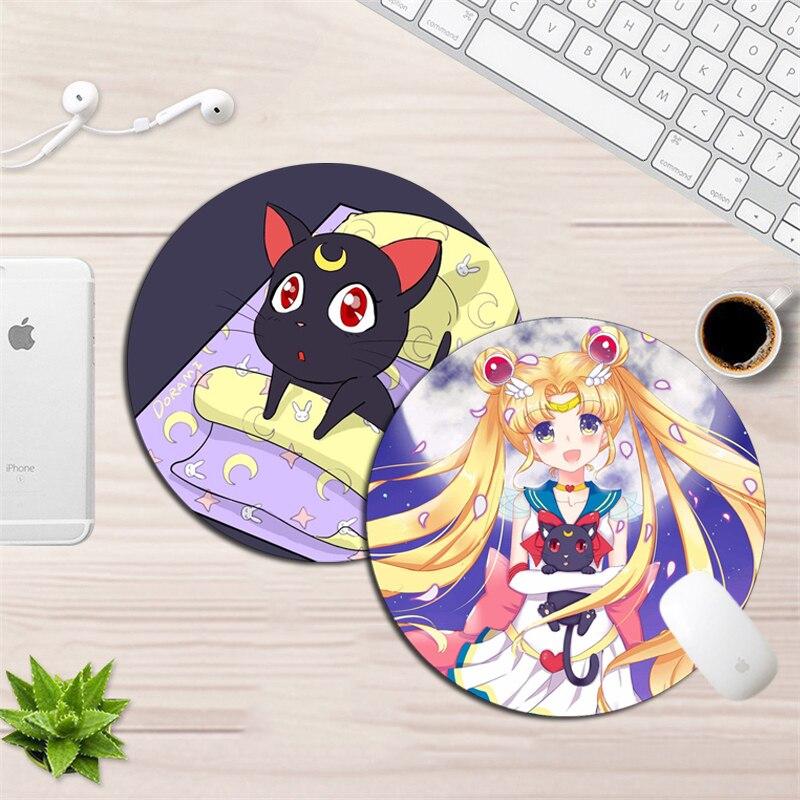 Anime Sailor Moon Tsukino Usagi Cute Girls Mouse pad Gaming PlayMat Mice Pad