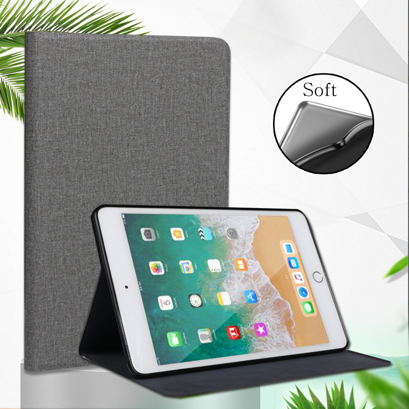 Case For New IPad Mini 4 5 2015 2019 5th Qijun Tablet Case For Apple IPad Mini 1/2/3 1 2 3 Flip Silicone Soft Shell Stand Cover