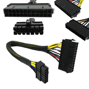 24 Pin to 14 Pin PSU Main Power Supply ATX Adapter Cable for Lenovo IBM PX7 Professional Motherboard Connector Cable Dropship