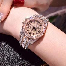 Luxury Women Watches Diamond Star Bling Bling Brand Dress Quartz Watches Ladies Rhinestone Wristwatch Relogios Femininos montre(China)